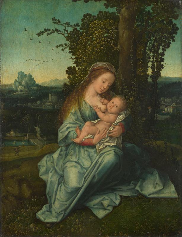 Style of Bernaert van Orley - The Virgin and Child in a Landscape