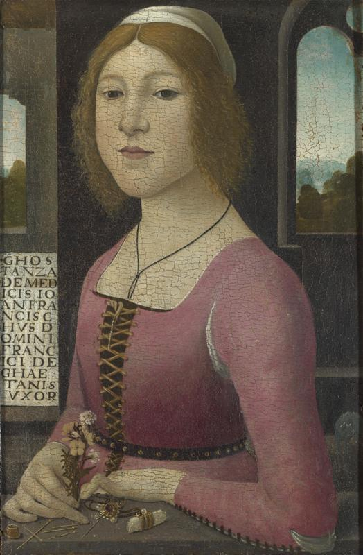 Style of Domenico Ghirlandaio - Costanza Caetani