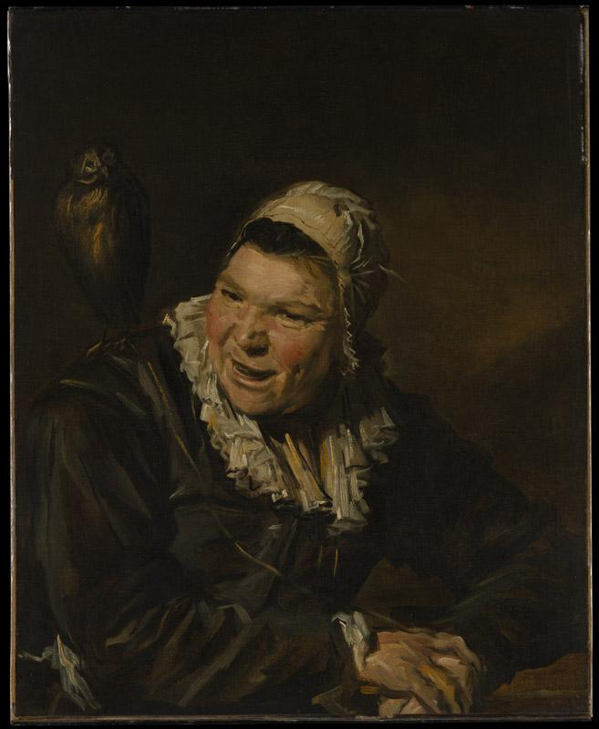 Style of Frans Hals--Malle Babbe