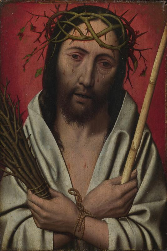 Style of Jan Mostaert - Christ Crowned with Thorns