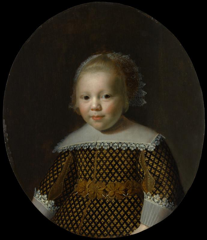 Style of Paulus Moreelse--Portrait of a Young Boy