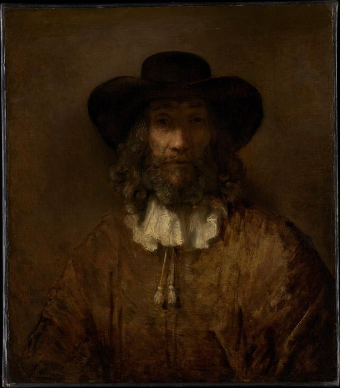 Style of Rembrandt--Man with a Beard