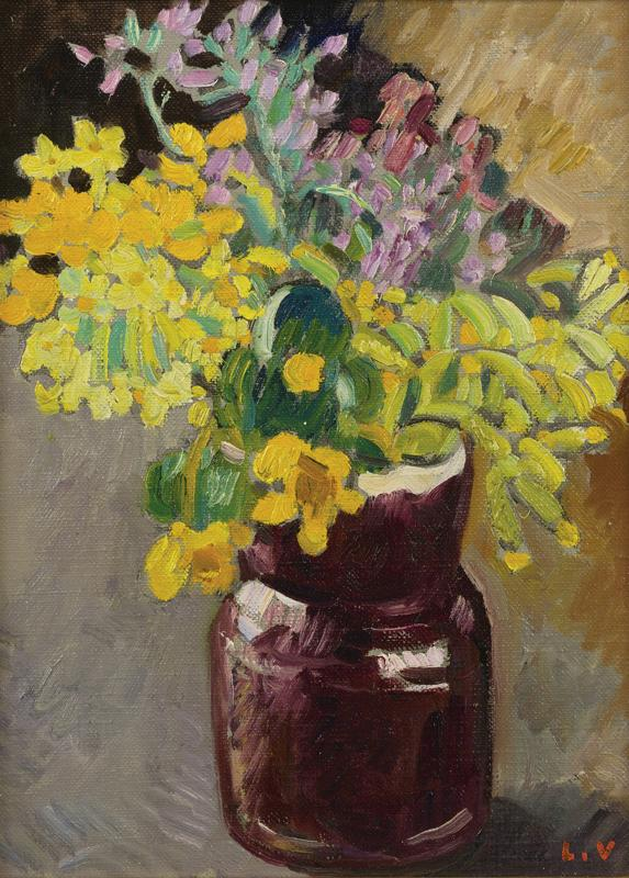 The Chestnut Jug with Flowers, 1927