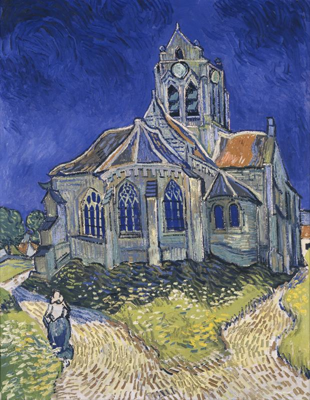 The Church in Auvers-sur-Oise, View from the Chevet 1890
