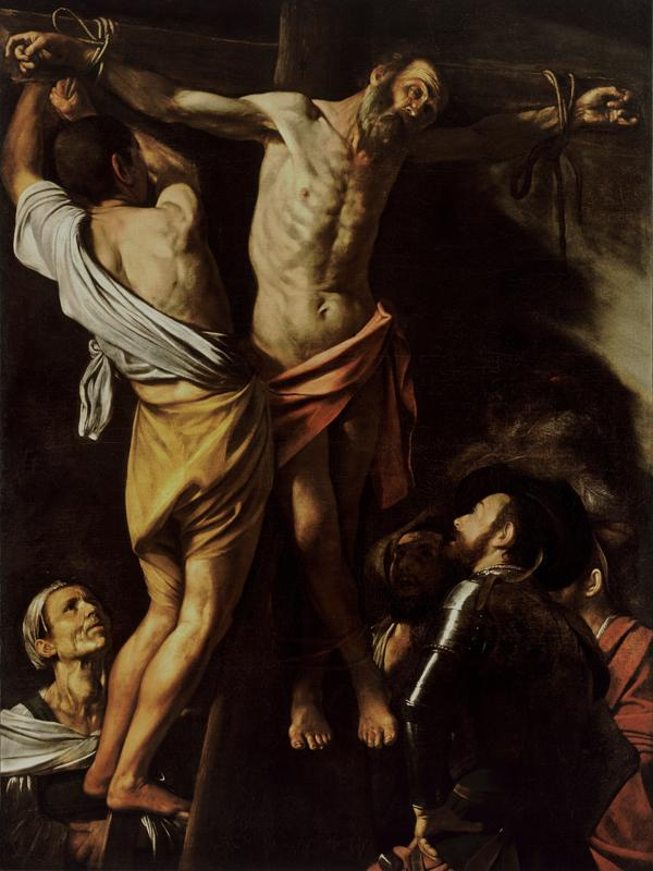 The Crucifixion of Saint Andrew (1607)