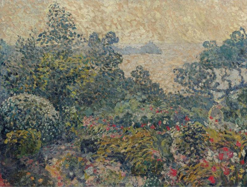 The Garden of Agay, Sunset, 1903