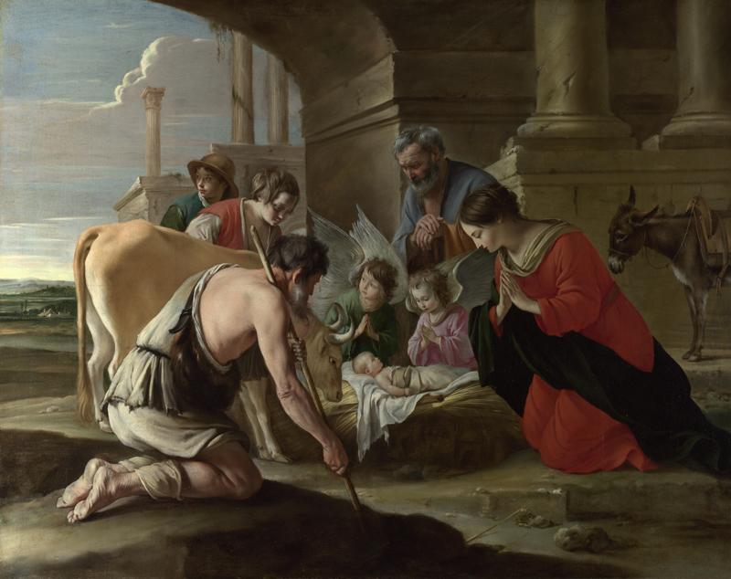 The Le Nain Brothers - The Adoration of the Shepherds