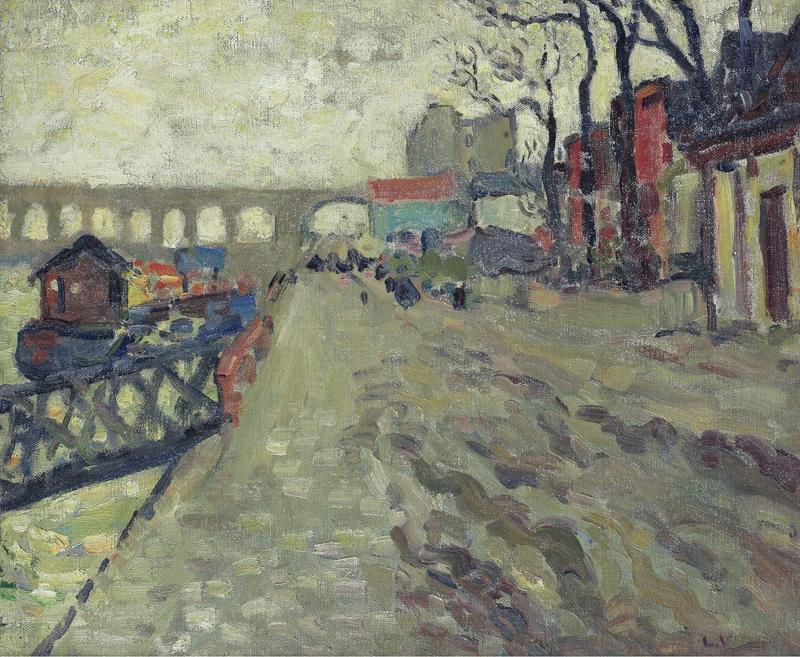 The Seine at Bercy, 1893