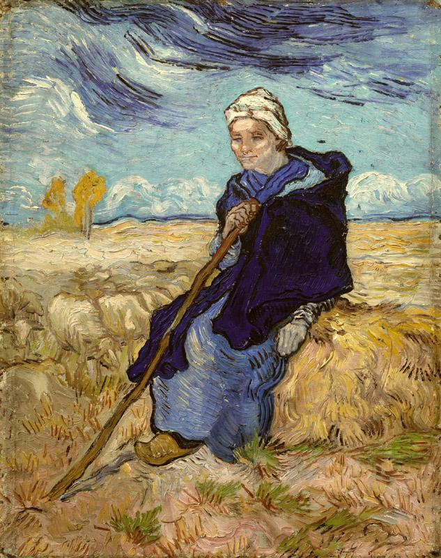 The Shepherdess (after Millet)