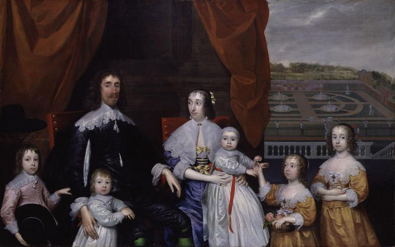 The Capel Family by Cornelius Johnson