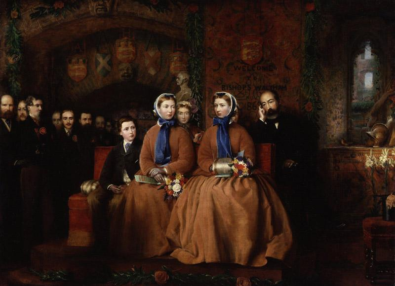 The Opening of the Royal Albert Infirmary at Bishop Waltham, 1865 from NPG