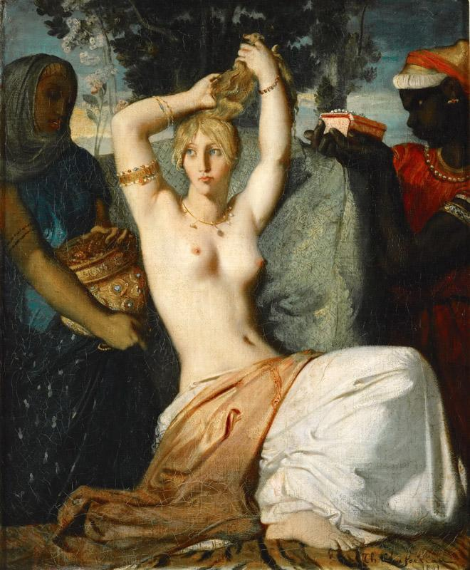 Theodore Chasseriau -- The Toilet of Esther