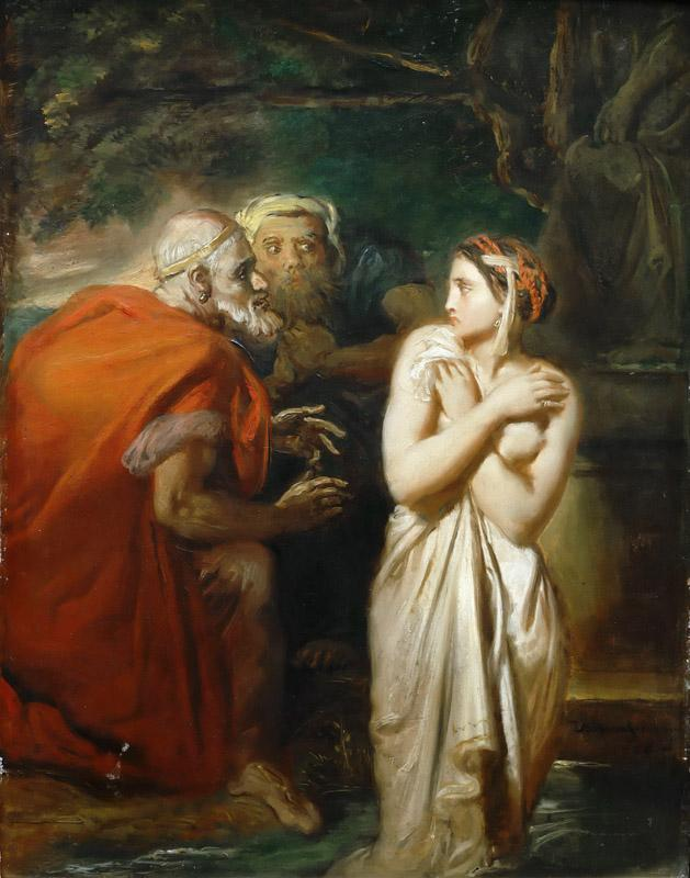 Theodore Chasseriau--Susanna and the Elders