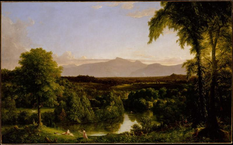 Thomas Cole--View on the Catskilli Early Autumn