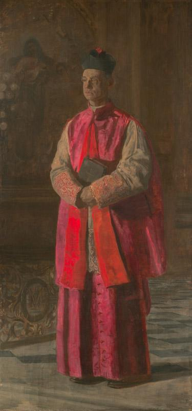 Thomas Eakins - Monsignor James P. Turner, ca. 1906
