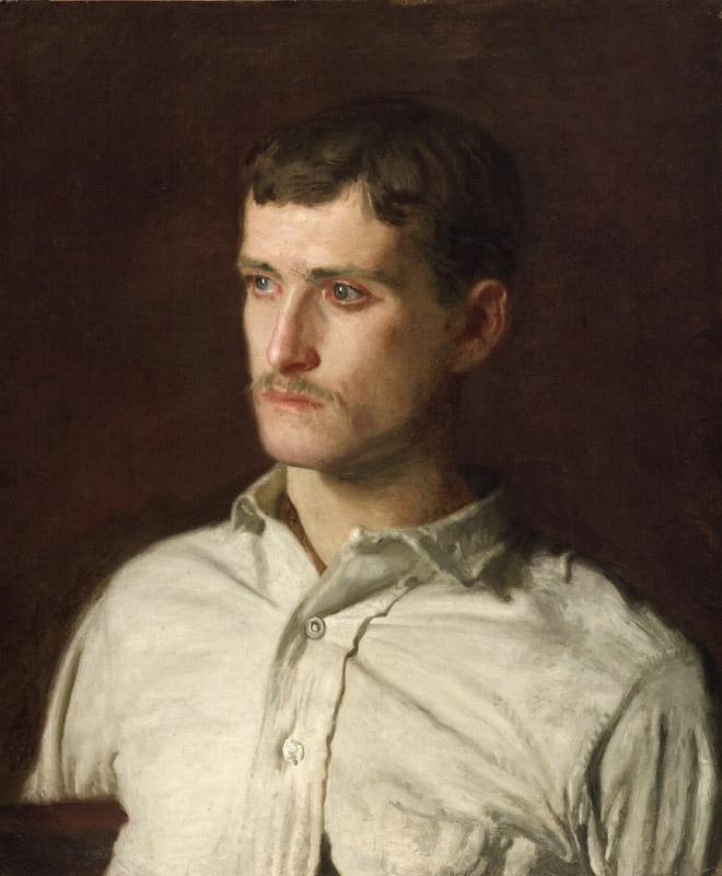Thomas Eakins, American, 1844-1916 -- Portrait of Douglass Morgan Hall
