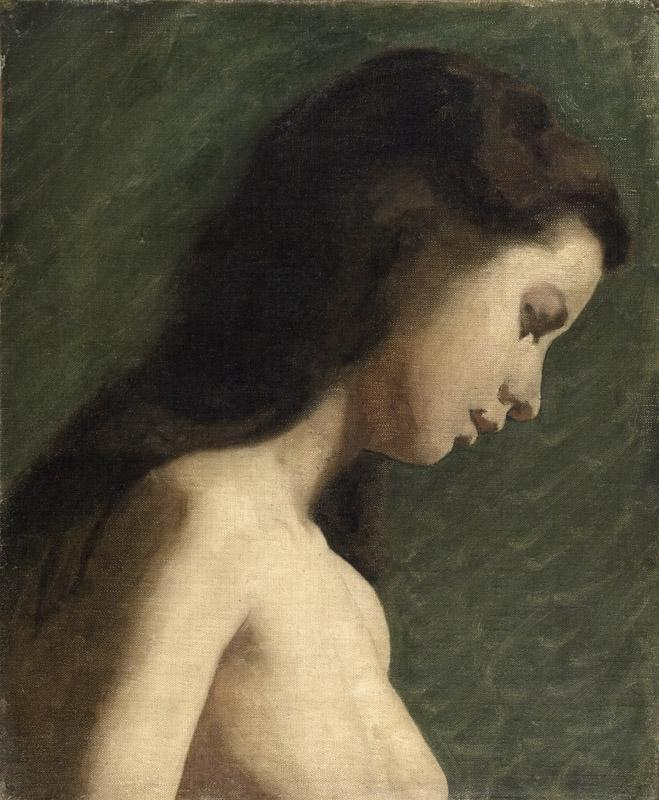 Thomas Eakins, American, 1844-1916 -- Study of a Young Woman