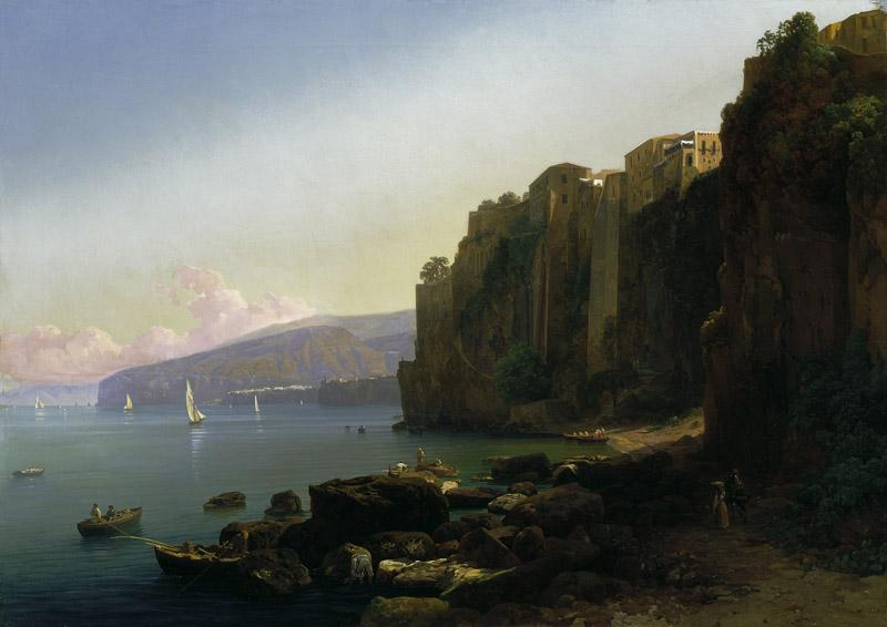 Thomas Ender - The Gulf of Sorrento
