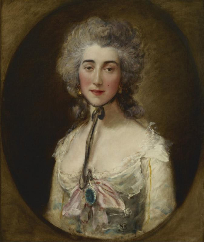 Thomas Gainsborough - Grace Dalrymple Elliott, c.1782