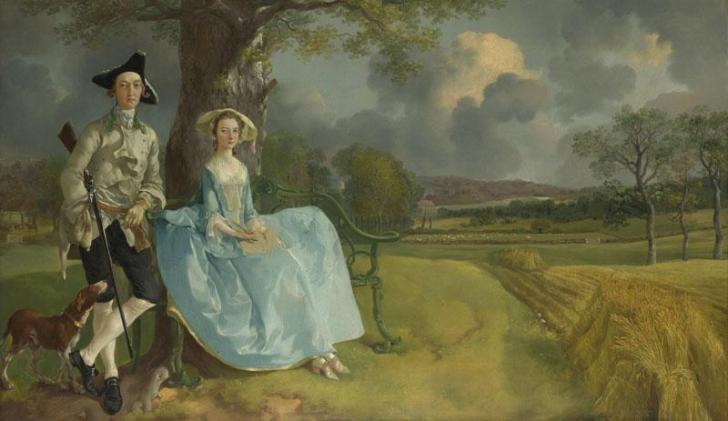 Thomas Gainsborough - Mr and Mrs Andrews