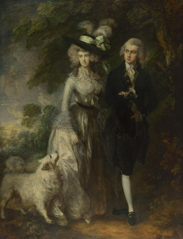 Thomas Gainsborough - Mr and Mrs William Hallett (The Morning Walk)
