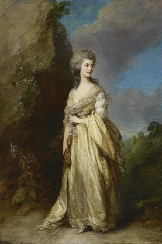 Thomas Gainsborough - Mrs. Peter William Baker, 1781