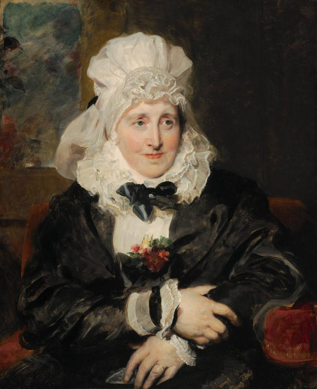 Thomas Lawrence - Mrs.William Lock of Norbury, 1829