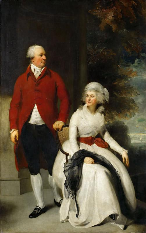 Thomas Lawrence -- Mr. and Mrs. John Julius Angerstein