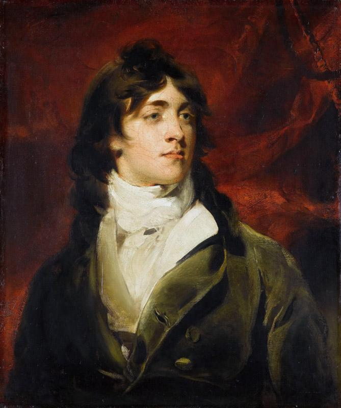 Thomas Lawrence -- Portrait of Charles William Bell