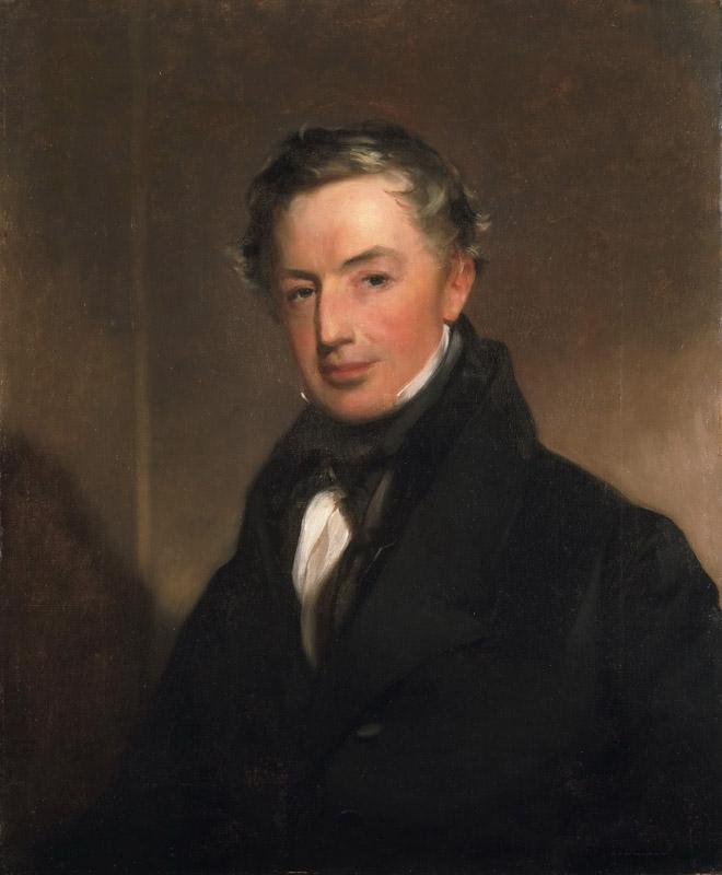 Thomas Sully, American (born England), 1783-1872 -- Portrait of General Thomas Cadwalader