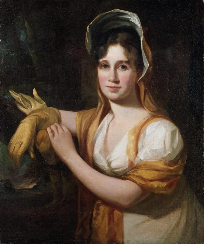 Thomas Sully, American (born England), 1783-1872 -- Portrait of Sarah Sully, Wife of the Artist