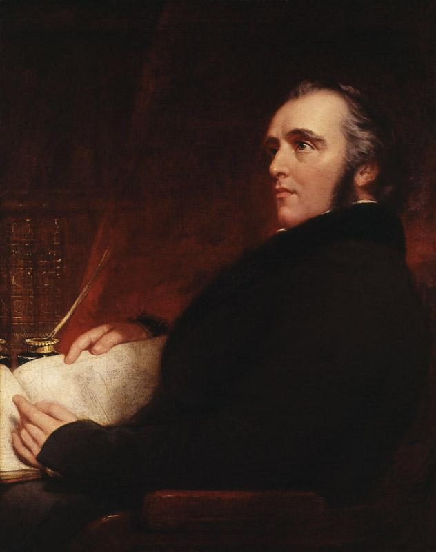 Thomas Babington Macaulay, Baron Macaulay by John Partridge