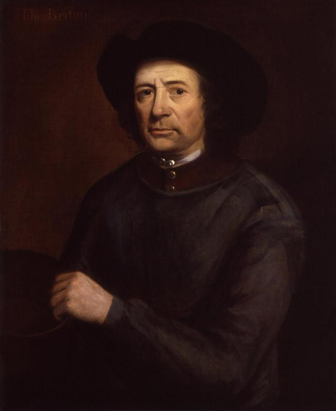 Thomas Britton by John Wollaston