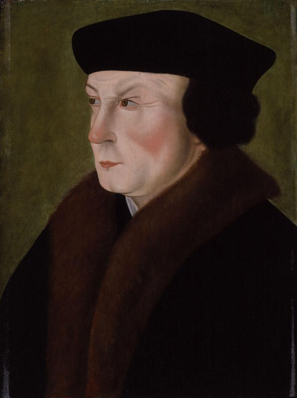 Thomas Cromwell Earl of Essex by Hans Holbein the Younger