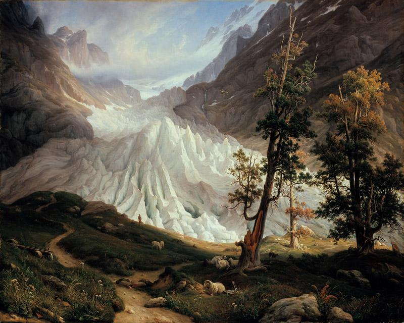 Thomas Fearnley - Grindelwaldgletscher