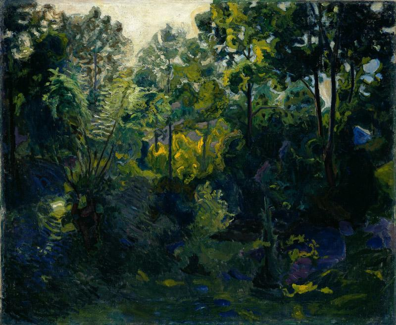 Thorvald Erichsen - Wooded Landscape