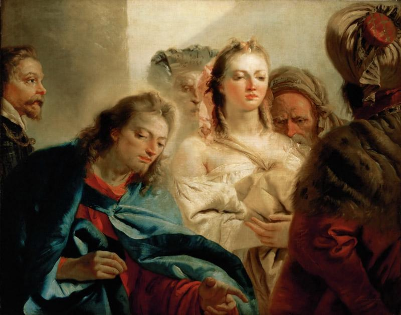 Tiepolo, Giovanni Battista -- Christ and the Adulteress