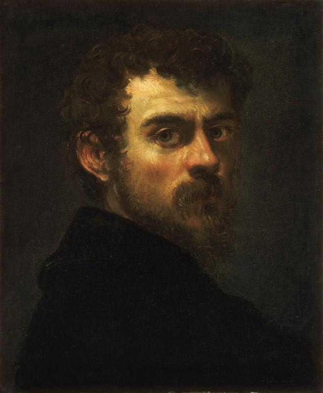 Tintoretto (Jacopo di Giovanni Battista Robusti), Italian (active Venice), 1519-1594 -- Self-Portrait