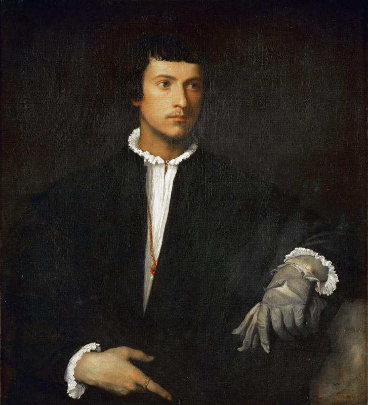 Titian -- Man with Glove