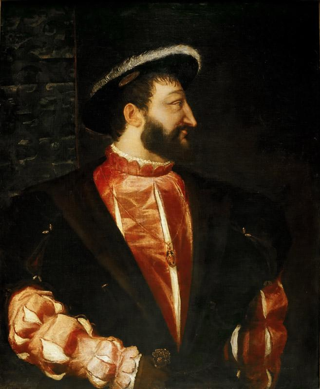 Titian -- Portrait of Francis I