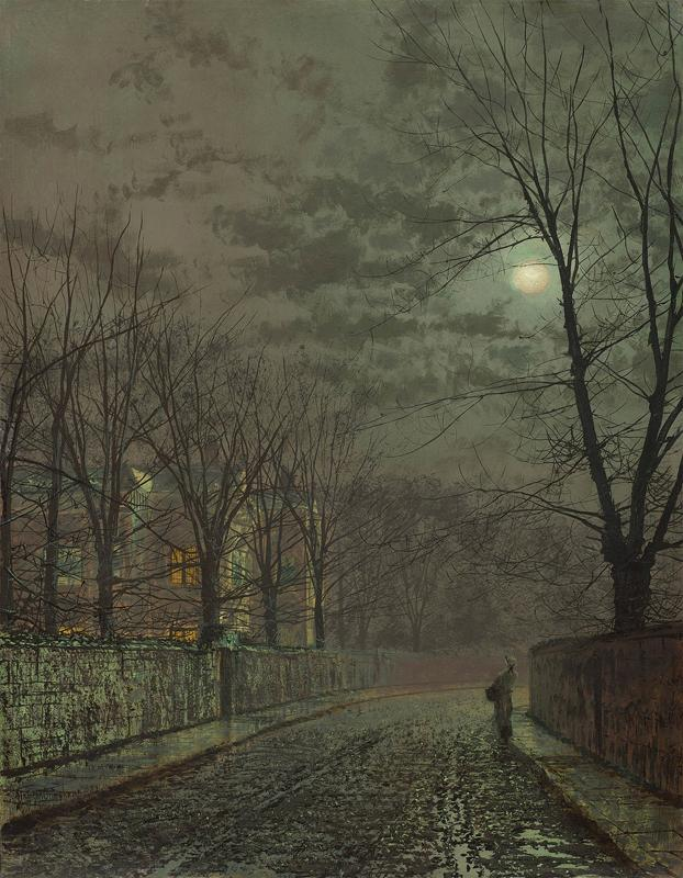 Under the Moonbeams, Knostrop Hall, 1882