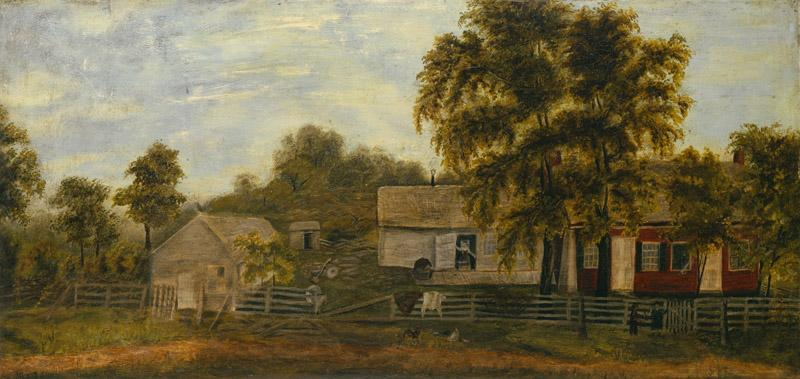 Unknown - Farm Scene, 1873