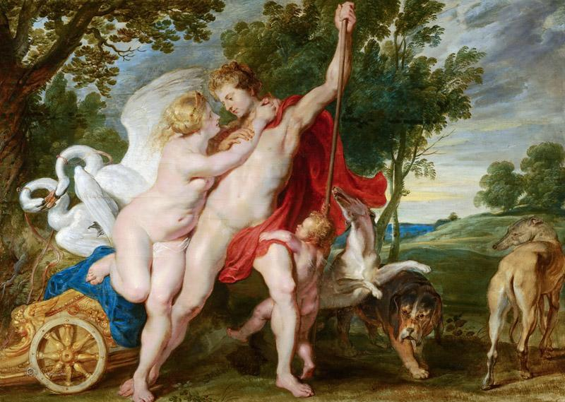 Unknown - Venus Trying to Restrain Adonis from Departing for the Hunt