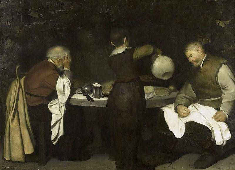 Unknown Artist -- De Emmausgangers, 1620 - 1680