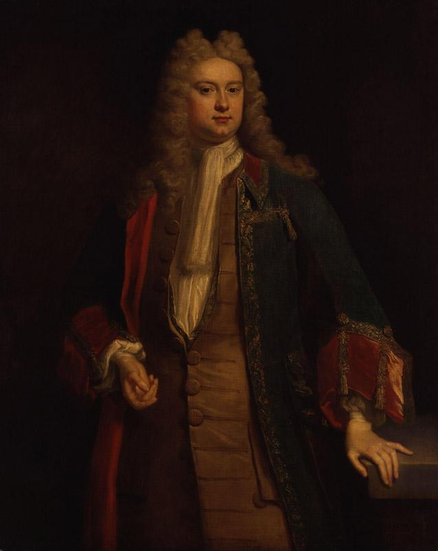 Unknown man, formerly known as Horatio Walpole, 1st Baron Walpole of Wolterton from NPG