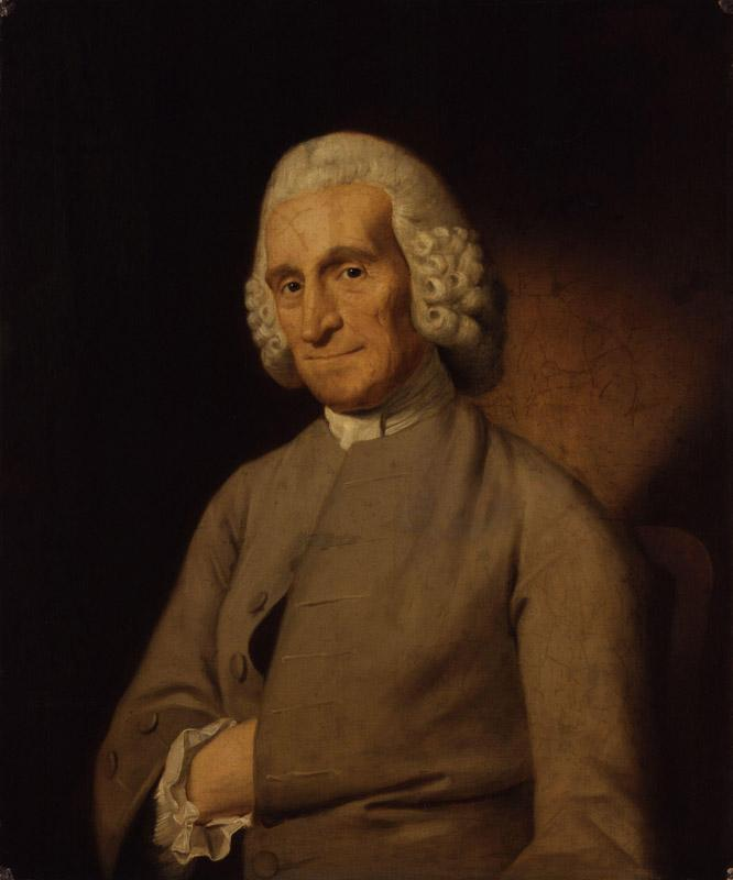 Unknown man, formerly known as Paul Whitehead by John Downman
