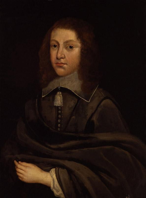 Unknown man, formerly known as Richard Cromwell from NPG