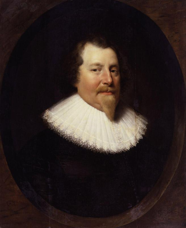 Unknown man, formerly known as Richard Weston, 1st Earl of Portland by Cornelius Johnson