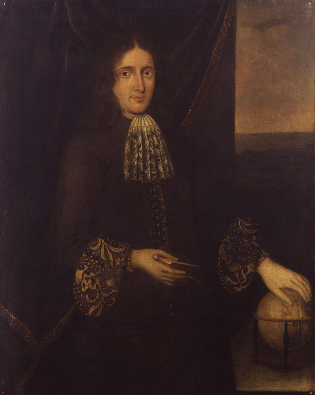 Unknown man, formerly known as Sir Isaac Newton from NPG