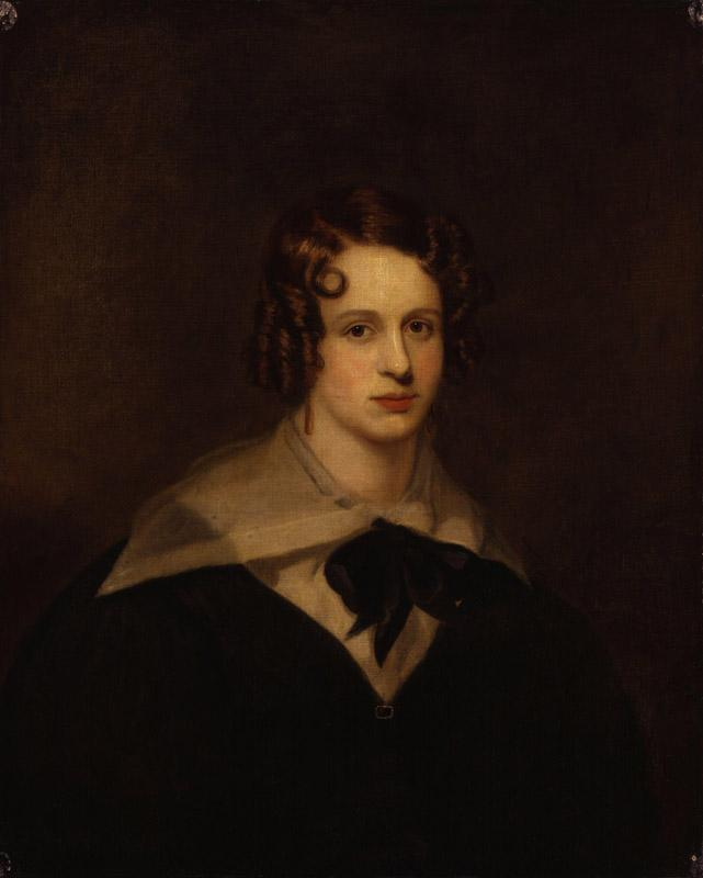 Unknown woman, formerly known as Felicia Dorothea Hemans from NPG